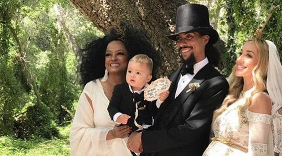 Diana Ross's son just had the ultimate bohemian wedding ...