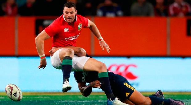 From an Irish perspective, it was an excellent day for Robbie Henshaw despite defeat for the Lions. Photo: GETTY