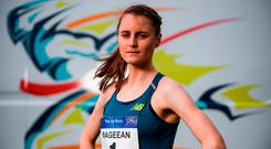 European 1500m medallist and Olympian, Ciara Mageean. Photo: Sam Barnes/Sportsfile
