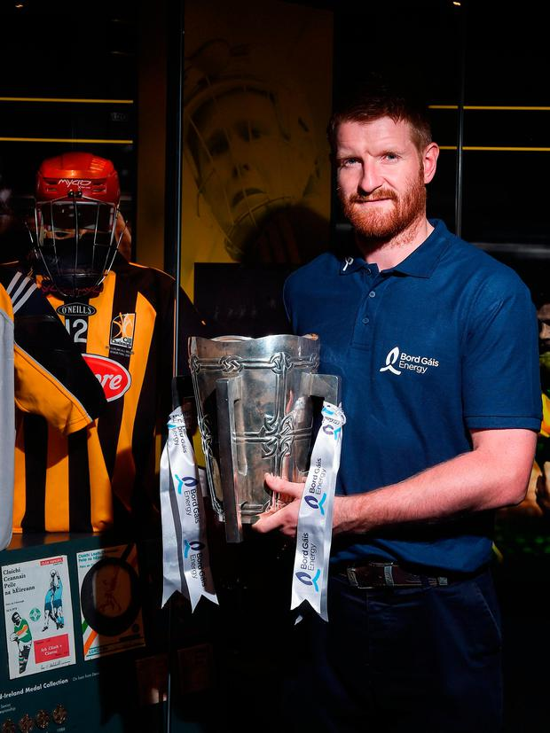 Kilkenny legend Richie Power at the launch of this year's Bord Gáis Energy Legends Tour Series. Photo by Seb Daly/Sportsfile