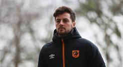Ryan Mason of Hull City arrives prior to during the Premier League match between Hull City and Crystal Palace at KCOM Stadium. (Photo by Ian MacNicol/Getty Images)