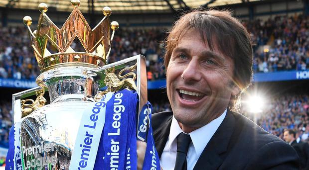 Antonio Conte and Chelsea begin the defence of their Premier League title with a home game against Burnley. Photo: Michael Regan/Getty Images