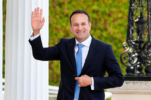Things can get better but Mr Varadkar has no time for a honeymoon. Photo: Steve Humphreys