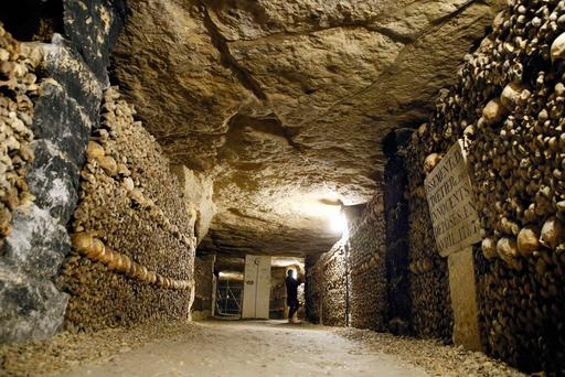 Two teenagers, 16 and 17, were found unharmed in the catacombs of the French capital after spending more than three days in these underground caves