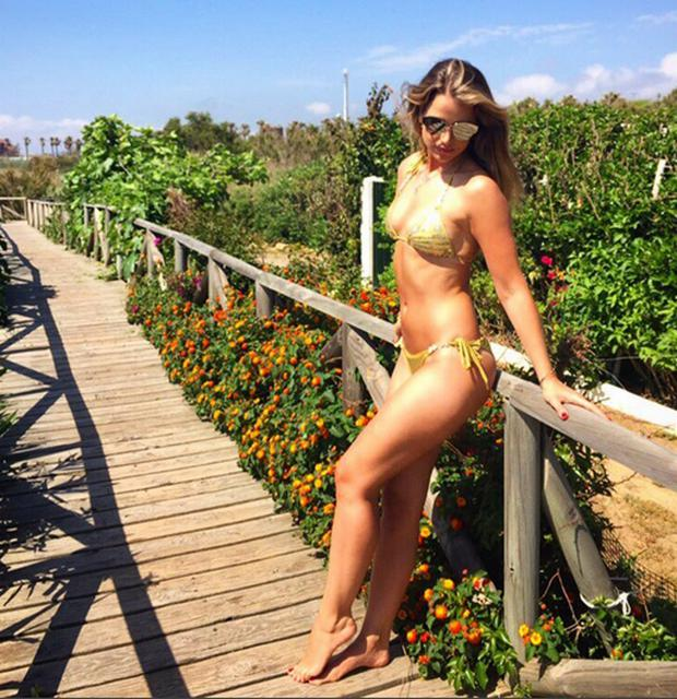 Vogue Williams is filming for RTE's Getaways