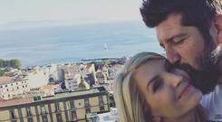 Yvonne Connolly and boyfriend John Conroy. Picture: Instagram