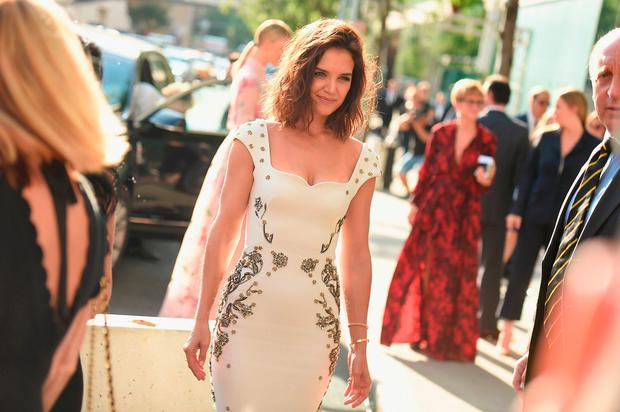 Katie Holmes attends the 2017 Fragrance Foundation Awards Presented By Hearst Magazines at Alice Tully Hall on June 14, 2017 in New York City. (Photo by Nicholas Hunt/Getty Images for Fragrance Foundation)