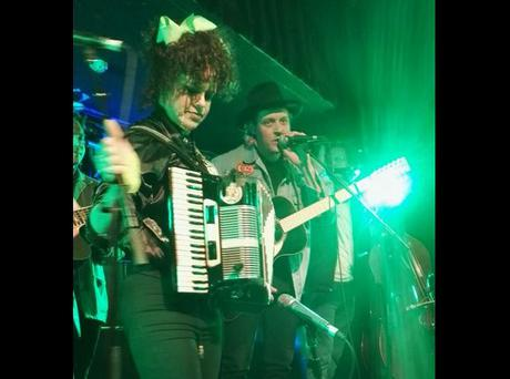 Arcade Fire playing a secret gig at Whelans. PIC: @NotFancyPants Twitter