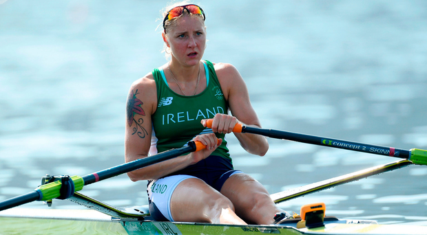 Sanita Puspure is looking to make her mark. Photo by Ramsey Cardy/Sportsfile
