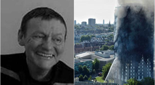 Dennis Murphy has been missing since the fire broke out at Grenfell Tower