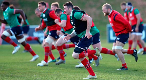 Four captains in five games tells its own tale but giving the armband to Peter O'Mahony – Ireland's leader-in-waiting – tomorrow could well prove inspired. Photo: GETTY