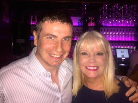 Mary Mitchell O'Connor with her son Steven in Copper Face Jacks at a party to mark Leo Varadkar's ascension to the office of Taoiseach