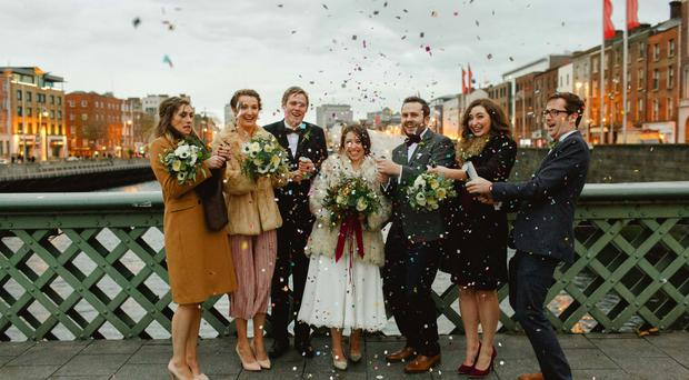 Dublin city wedding by Peter Carvill Photography