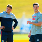 Owen Farrell, left, and Jonathan Sexton