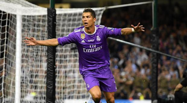 Ronaldo was the man of the match in the European final Getty