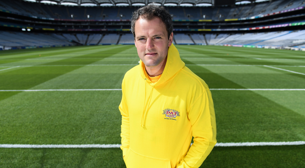 The GAA and GPA are delighted to announce a new partnership with Pat the Baker to promote the new Protein Bread at Croke Park in Dublin. The five year revenue share agreement will see a percentage of all sales going towards the GPA Player Development Programme, supported by the GAA. The Programme assists county players in critical areas of their off-field lives including education, career and personal development, health and wellbeing. In attendance at the launch is Donegal footballer Michael Murphy. Photo by Brendan Moran/Sportsfile