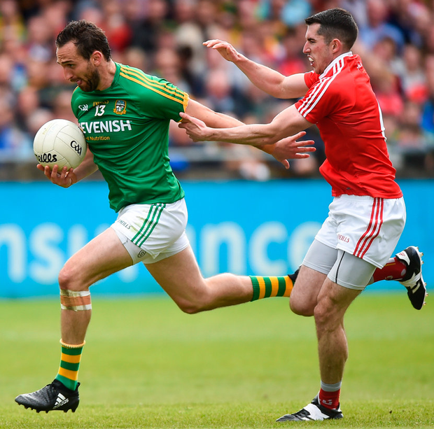 Captain Graham Reilly is a vital part of the Meath attack. Photo: Sportsfile