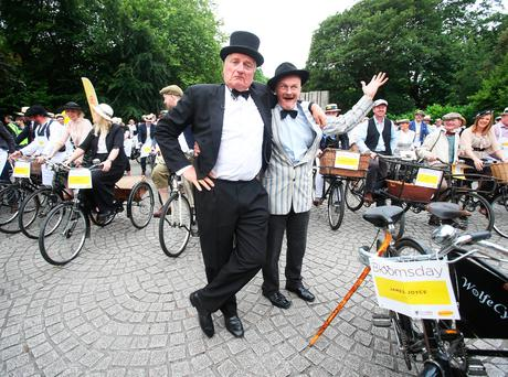 The Bloomsday Bike Rally Photo: Leon Farrell/Photocall Ireland