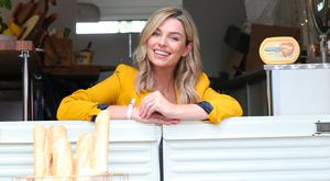 Pippa O'Connor, who judged the style award at Taste of Dublin Photo: Sasko Lazarov/Photocall Ireland