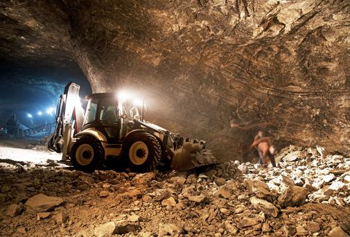 Mining giant Teck is in talks to sell its stake in a Limerick joint venture with John Teeling's Connemara Mining. Stock photo: Thinkstock