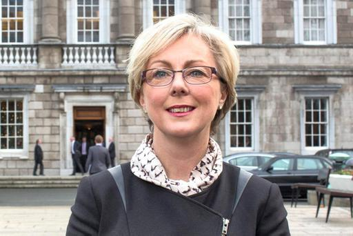 CLEAR SIGNS: Regina Doherty to fight for pensions increase. Picture: Fergal Phillips