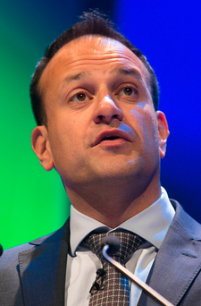 Potential: Leo Varadkar's articulacy and grasp of detail could in time give him greater influence in Brussels at meetings with other European Union leaders. Photo: Collins Dublin, Gareth Chaney