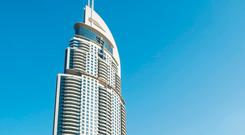 The Address Downtown Dubai has threatened Dublin's North Star Hotel with legal action