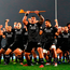 Maori All Blacks perform the Haka prior to the 2017 British & Irish Lions tour match yesterday. Photo: Getty