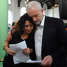 EMPATHY: Jeremy Corbyn, after visiting the horrific London tower block fire, again showed he is a natural communicator, with an ease with people that helps him to connect on a personal level. Picture: PA