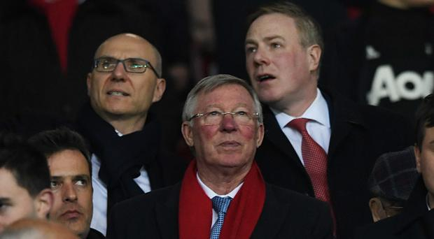 Alex Ferguson at the UEFA Europa League Round of 16, second leg match between Manchester United and FK Rostov at Old Trafford on March 16, 2017 in Manchester, United Kingdom. (Photo by Stu Forster/Getty Images)