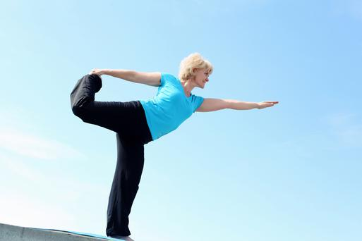 Mindfulness and yoga may help reduce the severity of hot flushes and other symptoms of menopause