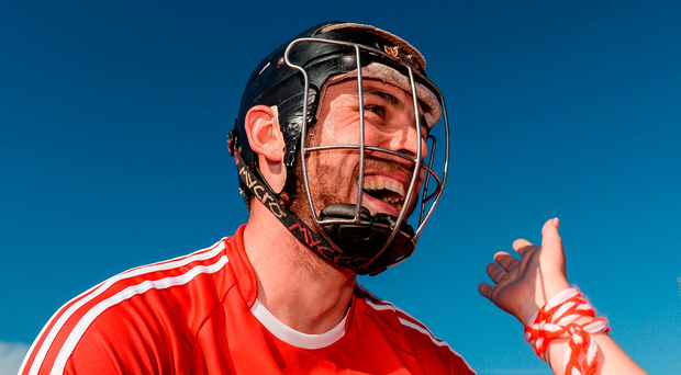 Christopher Joyce is lifted shoulder-high by Cork supporters after yesterday's Munster SHC semi-final at Semple Stadium Photo: Piaras Ó Mídheach/Sportsfile