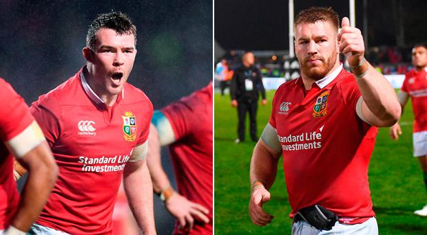 Peter O'Mahony and Sean O'Brien look set to start against the All Blacks