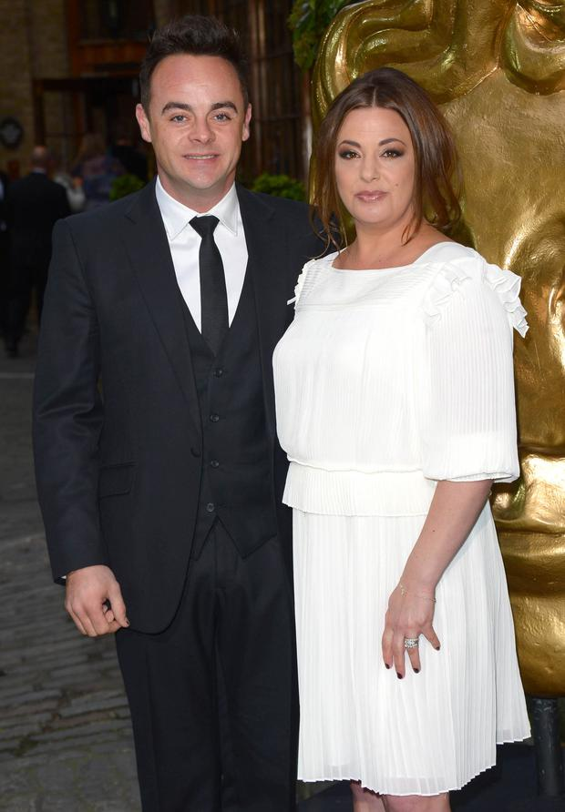 Anthony McPartlin and Lisa Armstrong attend the British Academy Television Craft Awards at The Brewery on April 26, 2015 in London, England. (Photo by Stuart C. Wilson/Getty Images)
