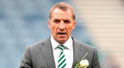 Celtic Manager Brendan Rodgers. Photo: Getty Images