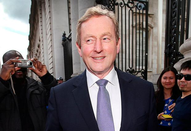 Former Taoiseach Enda Kenny. Photo: Steve Humphreys