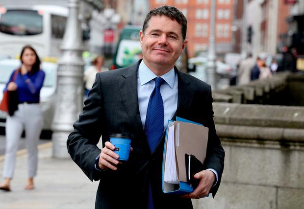 Paschal Donohoe TD. Photo: Tom Burke