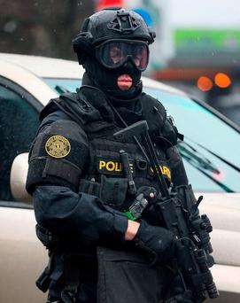 The Armed Response Unit will be supported by the Emergency Response Unit. Photo: PA