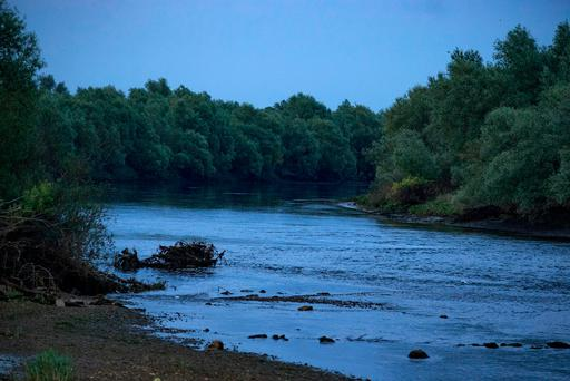 The river Suir beside Ormond Castle in Carrick on Suir where a 25 year old man drowned. Picture: Arthur Carron