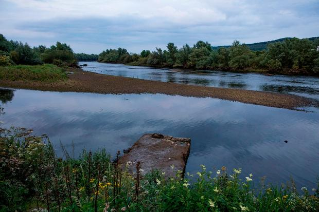 The river beside Ormond Castle in Carrick-on-Suir. Photo: Arthur Carron