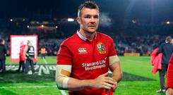 Peter O'Mahony is being tipped to captain the Lions against the All Blacks on Saturday
