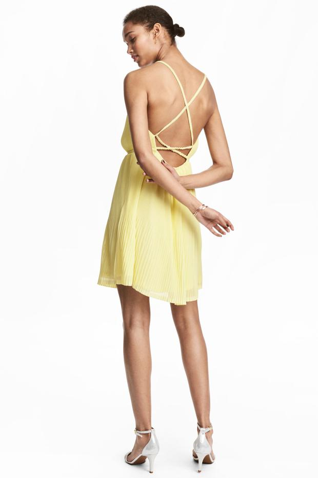 String back summer dress from H&M