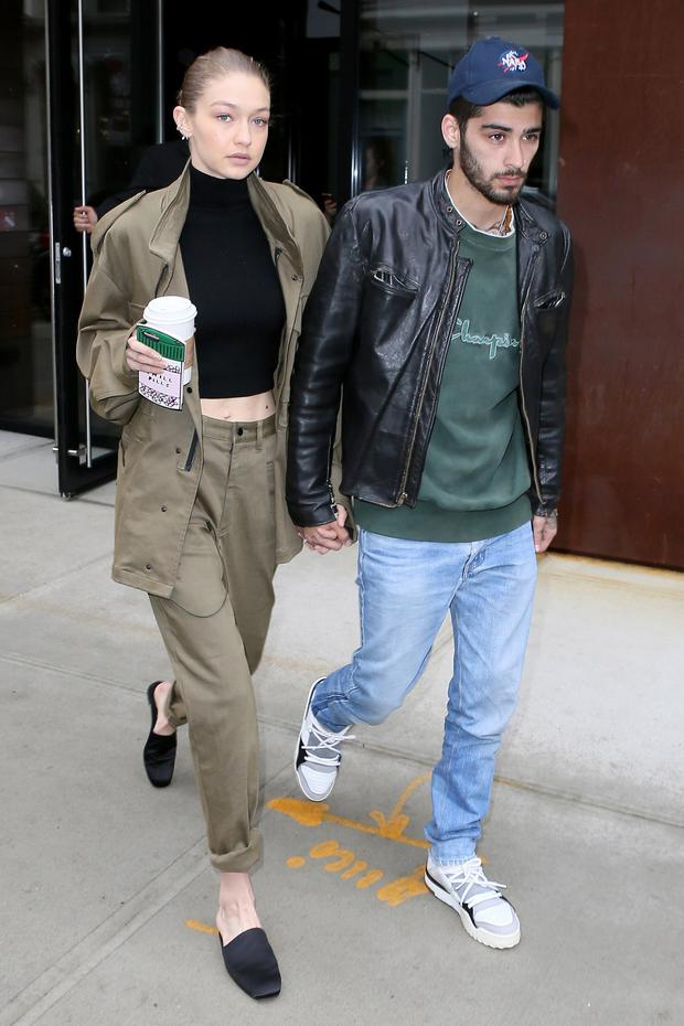 Gigi Hadid and Zayn Malik in New York
