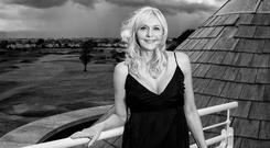 Miriam O'Callaghan: 'You should be grateful to be here. That's how I life my life'. Photo: Kip Carroll