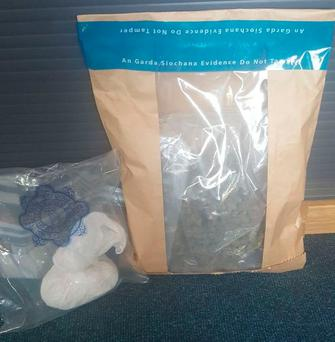 Drugs seized as part of Operation Banner Picture: Garda Press Office