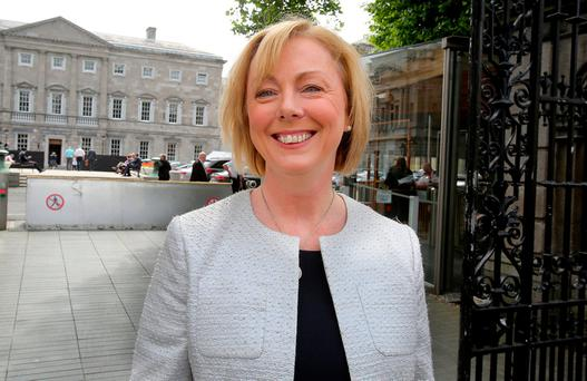 Regina Doherty: Questions about her pay top-up for being a super junior minister. Photo: Tom Burke
