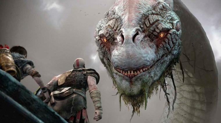 The new God of War looks mighty impressive and is slated for an early 2018 release