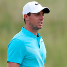 Rory McIlroy has set his sights on redemption in the British Open after missing the cut at last week's US Open. Photo: USA Today Sports