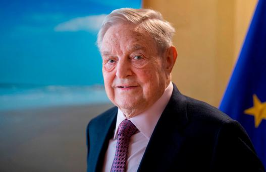 George Soros. Photo: Bloomberg