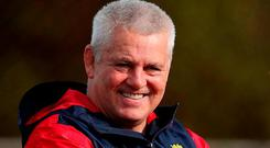 British and Irish Lions head coach Warren Gatland. Photo: David Davies/PA Wire